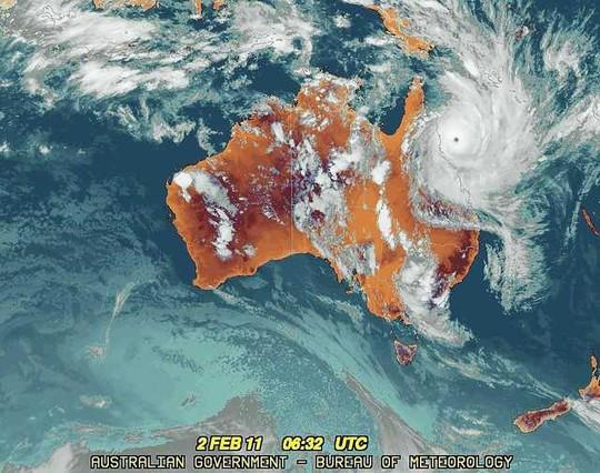 Imatge de satèl·lit de l