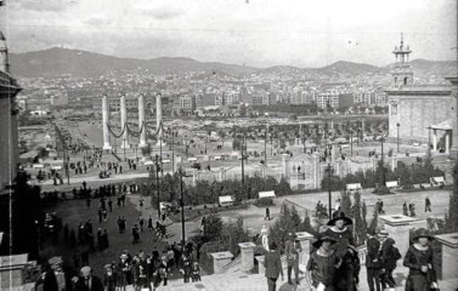 Acto de Reinauguración de las Cuatro Columnas de Montjuïc 1270628737708