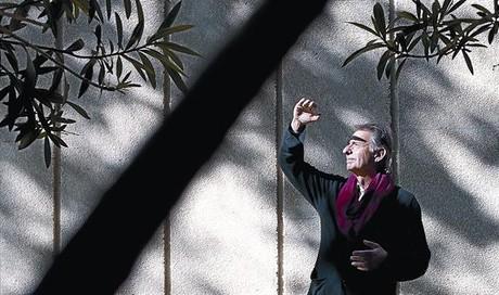Amat a la Fundació Miró el dia de la presentació del llibre